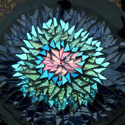 Helix Nebula Mandala by Margaret Almon