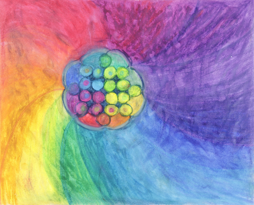 Universe-all-love by Suzanne Halstead