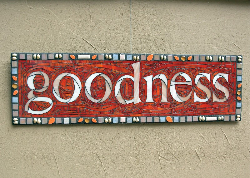 Goodness in Mosaic by Nutmeg Designs