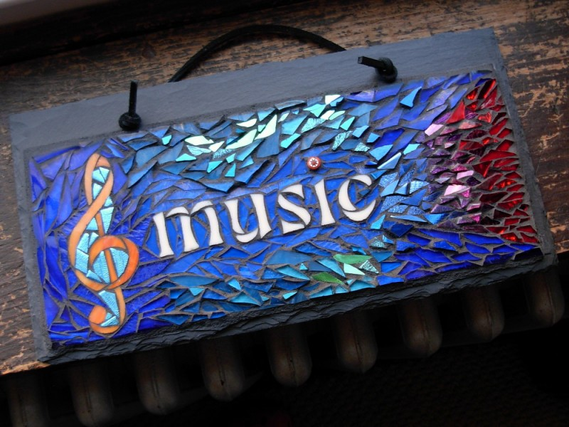 Hearing Music in Color by Nutmeg Designs