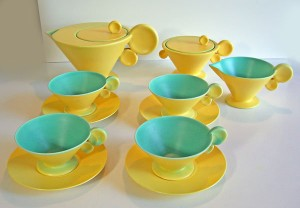 Tea Set by Margarete Heymann Loebenstein Marks
