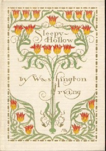 Sleepy Hollow.  Cover by Margaret Armstrong.