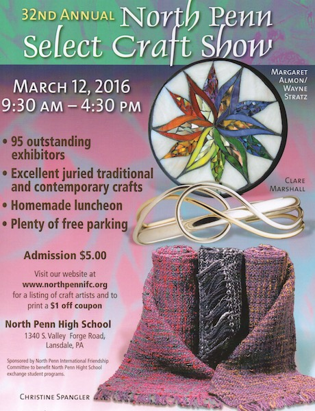 North Penn Spring Craft Show 2016