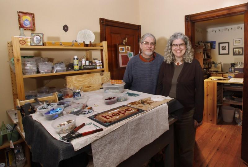Nutmeg Designs in Habitat.  Photo by Allison Puketza.