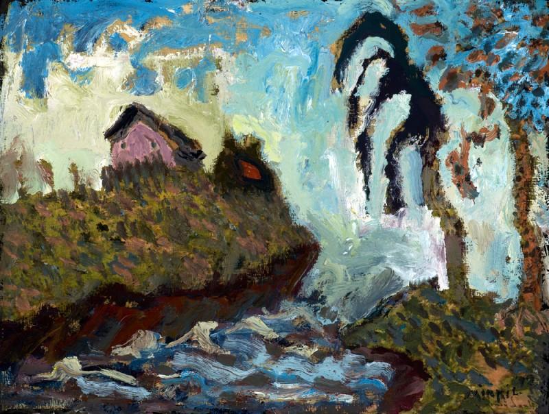 Erosion. Helen Mirkil.