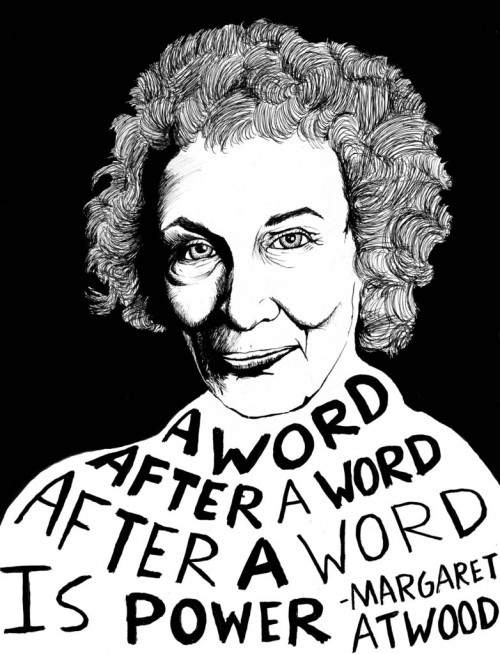 Margaret Atwood by Ryan Sheffield.