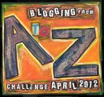 A to Z Challenge Badge 2012