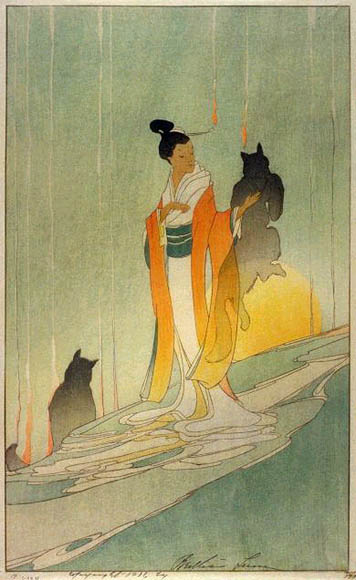 Bertha Lum, Fox Woman
