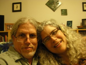 Wayne Stratz and Margaret Almon, June 11, 2012, twentieth wedding anniversary.