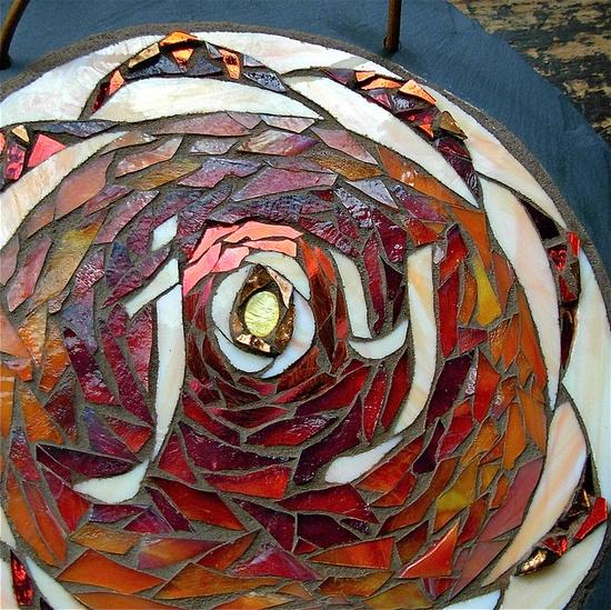 Joy Lotus Mandala by Nutmeg Designs.