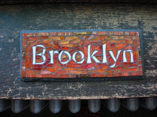 Brooklyn Mosaic by Nutmeg Designs.