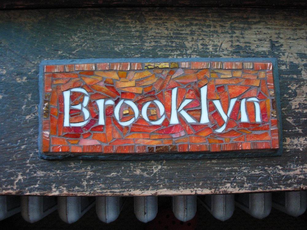 Brooklyn Mosaic by Nutmeg Designs.