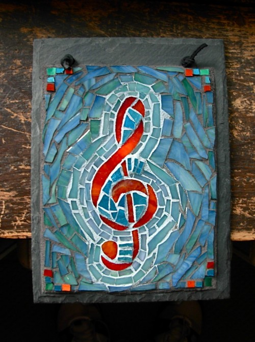 Treble Clef by Nutmeg Designs.