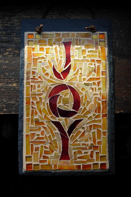 Joy Mosaic by Nutmeg Designs.