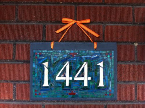 1441 House Number by Nutmeg Designs