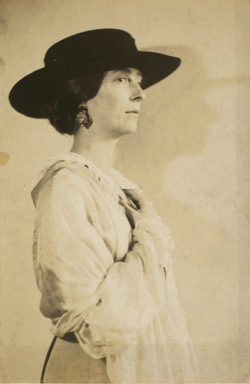 Margaret Watkins, photographed in 1920 by Alice Boughton. (Collection of Joseph Mulholland)
