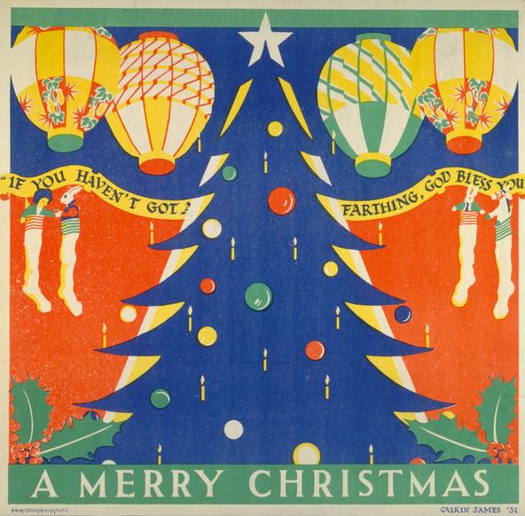 Merry Christmas by Margaret Calkin James, 1931