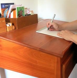 Margaret's Standing Desk Studio Letter