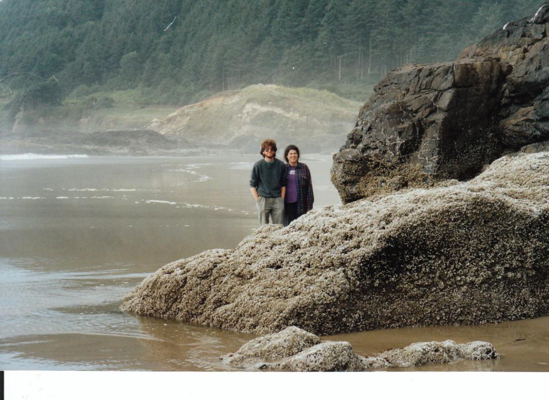 Margaret and Wayne Oregon Coast