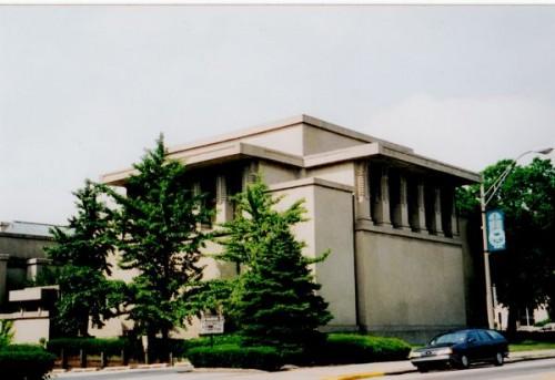 Unity Temple by Frank Lloyd Wright, Oak Park, IL