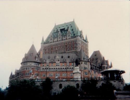 Château Frontenac, Québec City, 1985.
