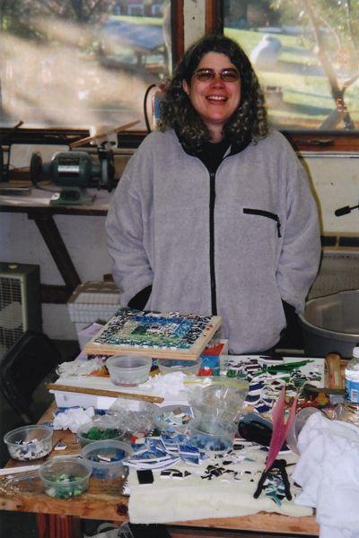 Margaret Almon at Snow Farm