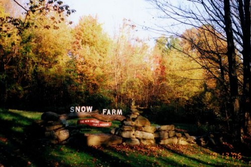 S Is For Snow Farm The New England Craft Program A To Z