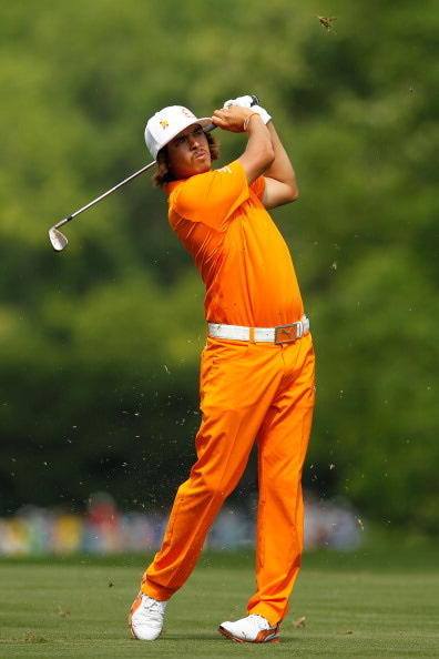 Rickie Fowler, Wells Fargo Championship. Streeter Lecka / Getty Images