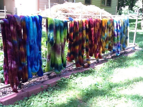 Susan Nadelson Dyed Roving