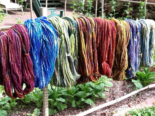 Susan Nadelson Dyed Yarn