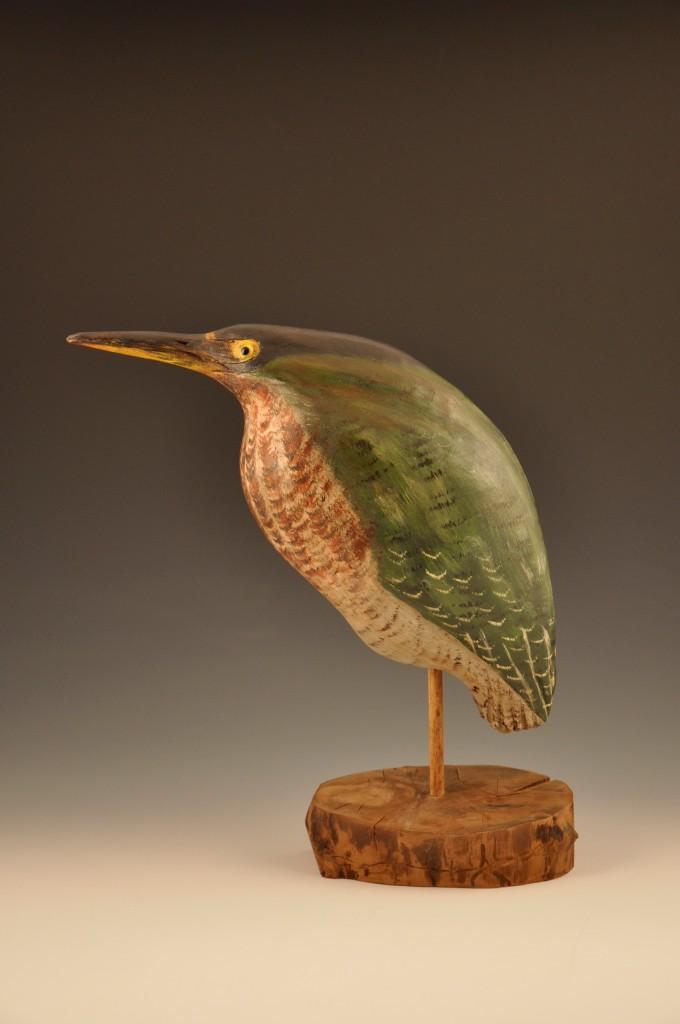 Ron Dombrowski Green Bird