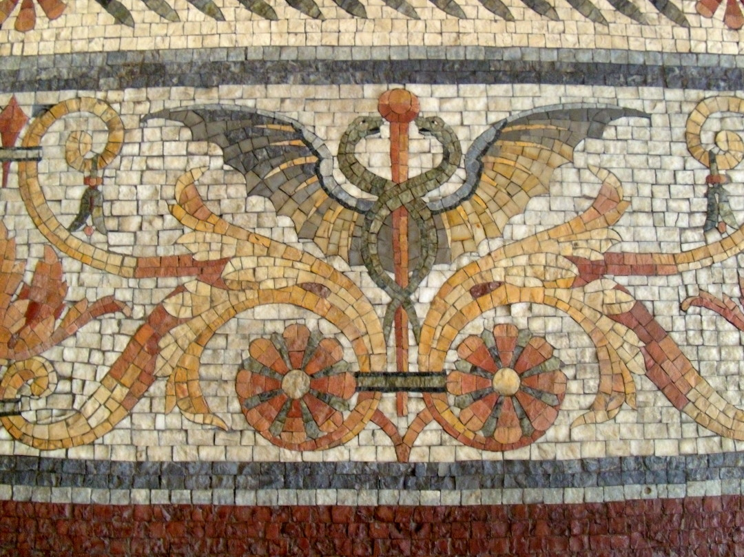 Marble Mosaic at the Former Wanamaker's Department Store in Philadelphia