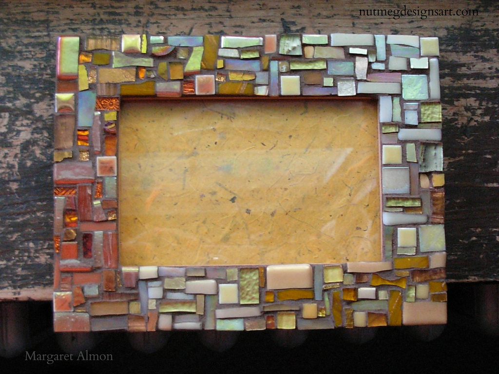 mosaic frame by margaret almon - Mosaic Picture Frames