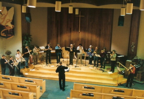 Edmonton Moravian Sanctuary with Ritchie Trombone Choir
