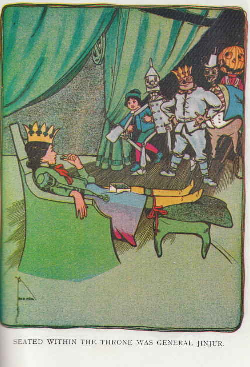 General Jinjur from The Marvelous Land of Oz, John R. Neill illustrator