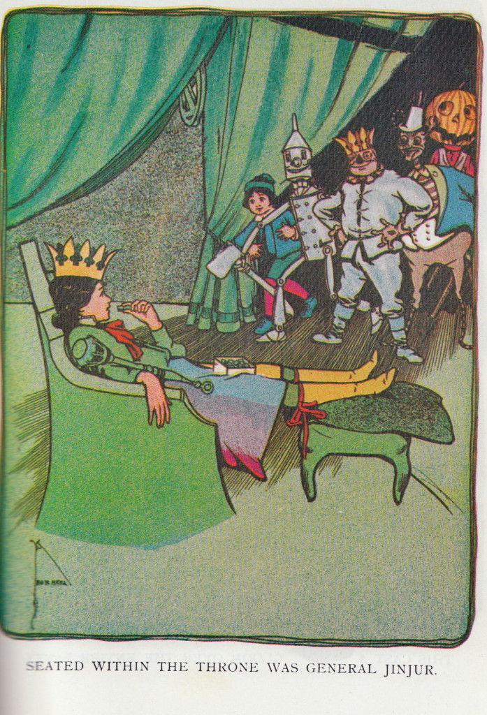 General Jinjur from The Marvelous Land of Oz, John R. Neill illustrator