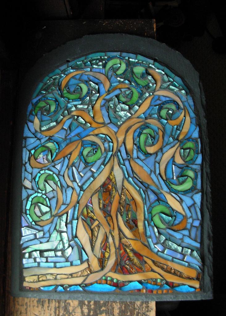 Tree of Life Mosaic by Nutmeg Designs