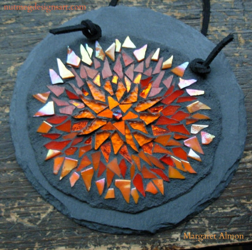Marigold Mandala by Margaret Almon.