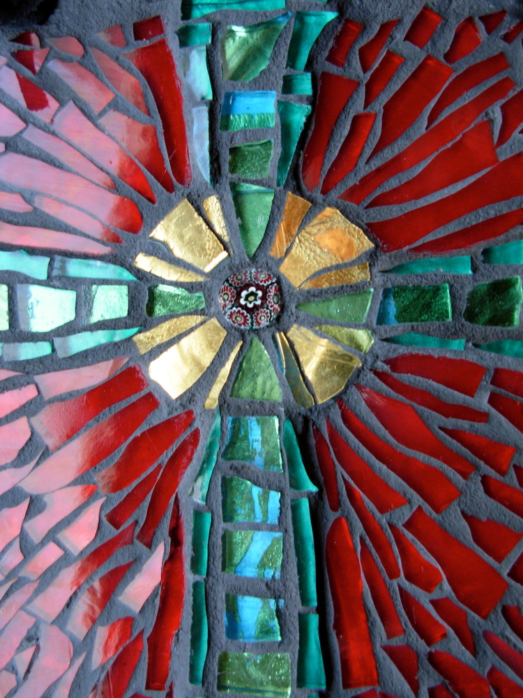 River of Life Cross by Margaret Almon