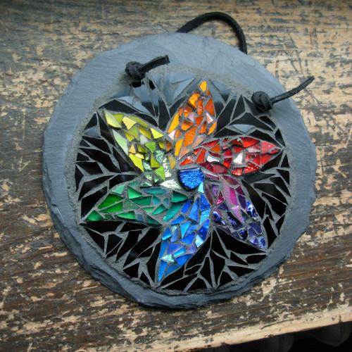Color Wheel in Bloom by Nutmeg Designs.