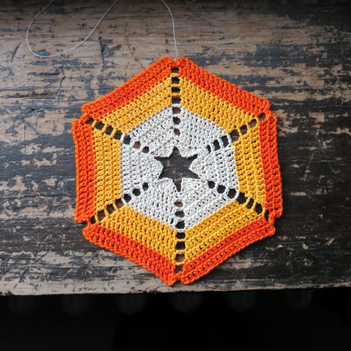 Crochet Snowflake by Snowcatcher