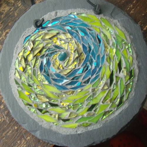Earth Spiral Mandala by Margaret Almon