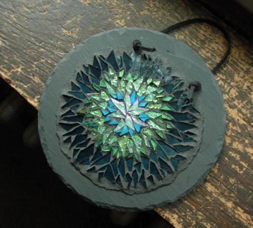 Helix Nebula Mandala by Margaret Almon.