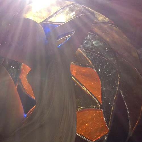 Stained Glass Wings by Wayne Stratz.