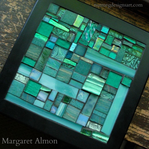 Teal Trivet for Ovarian Cancer Awareness 2013 by Margaret Almon
