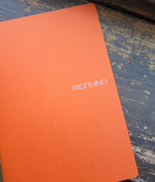 Fabriano Sketchbook in Orange