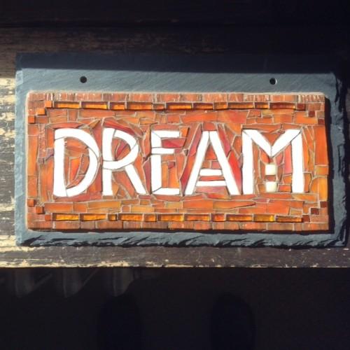 Dream in Orange by Nutmeg Designs.