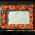 Orange Frame with Zest by Margaret Almon