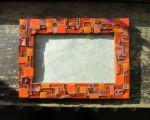 Orange Frame with Zest by Margaret Almon