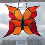 Aldora: Orange Butterfly by Wayne Stratz.